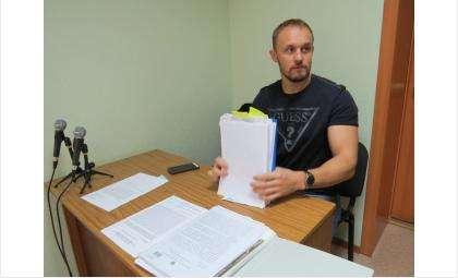 Денис Ковалевский представляет в суде интересы Александра Илющенко