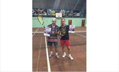 Прошел турнир по большому теннису среди любителей г Бердска
