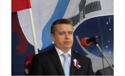 Андрей Михайлов, и.о. мэра Бердска, один из 14-и кандидатов на пост мэра. Фото ©Галина Жильцова
