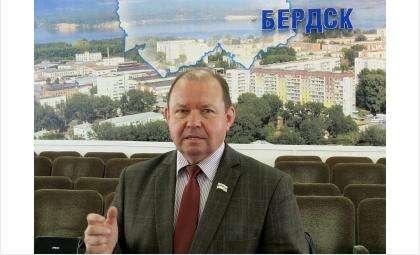 Валерий Бадьин, председатель горсовета депутатов Бердска