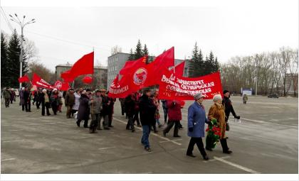 После митинга 7 ноября состоится шествие членов КПРФ
