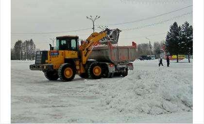 Вывозить снег можно только на официальные снегоприемные пункты