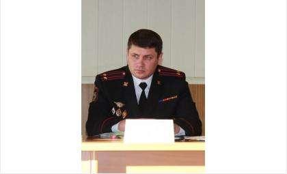 Евгений Викторович Борисов, начальник МО МВД России «Искитимский»
