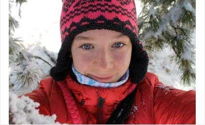 Анастасия Филонова - перспективная биатлонистка из Бердска. Фото с личной странички Анастасии Филоновой vk.com