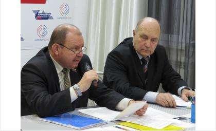 Валерий Бадьин (слева) и Анатолий Эйсвальд возглавляют общественное движение «300-летие города Бердска»