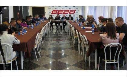 Отчетная конференция ассоциации предпринимателей Бердска