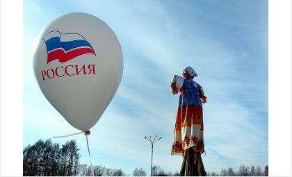 Чучело Масленицы традиционно сожгут на площади Горького в Бердске