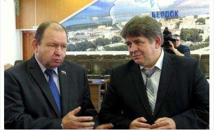 Валерий Бадьин и Евгений Шестернин