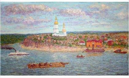 «Старый Бердск». Художник Владимир Шарнин