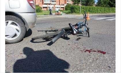 С начала апреля в ДТП в Бердске пострадали трое детей