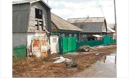 Окраина Искитима, район Бараба, где, вероятно, живет еще немало должников. Фото: «8 канал» Новосибирск