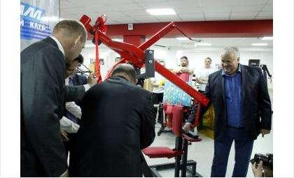 Спортивный меценат - бизнесмен Виктор Голубев открыл новый спортивный зал в Бердске