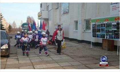 Хоккейнкя команда «Кристалл» из Бердска