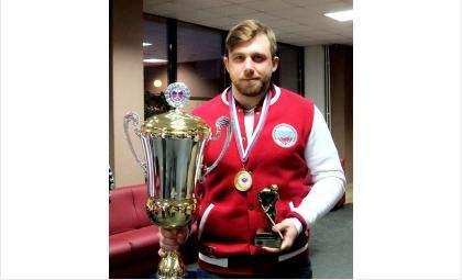 Артем Козельский, капитан хоккейной команды СибУПК (Новосибирск)