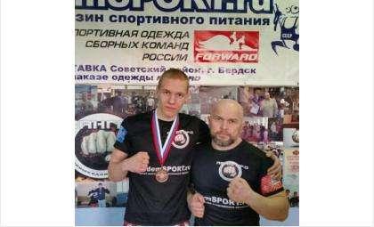 Иван Тарасенков и тренер Сергей Евстафьев