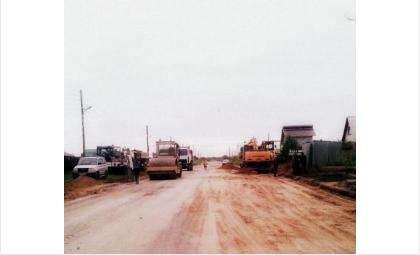 Постепенно начинается строительство дорог в новом бердском микрорайоне Белокаменный