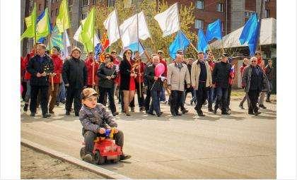 Первомай в Бердске. Фото ©Евгений Тарасов