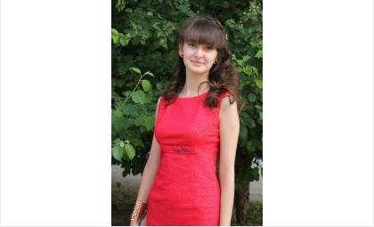 Алина Хоменко, выпускница школы №12 города Бердска