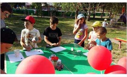 Магазин «Радиотехника» выступил соорганизатором детского праздника