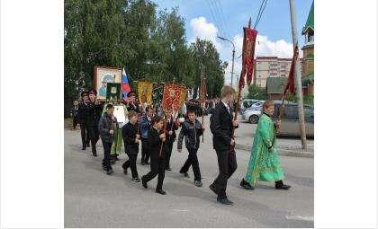 Крестный ход в день Троицы