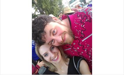 Я и Захар Заволокин