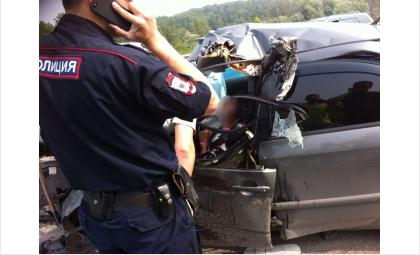 ДТП на Бердском шоссе. Фото с места происшествия