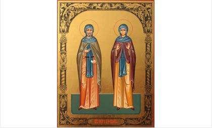 Икона св. Петра и Февронии