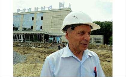 Генеральный директор ЗАО «РСУ-5» Михаил Голубев - подрядчик объекта реконструкции ДК «Родина» в Бердске