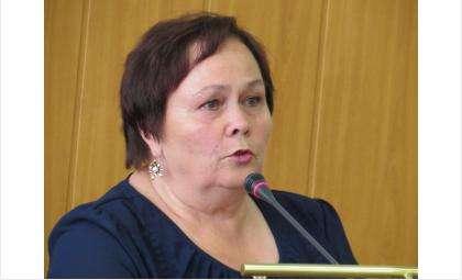 Председатель ТИК Галина Петровна Лаптева