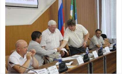 Выездное заседание Олимпийского совета в Бердске