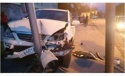 Джип под управлением пьяного водителя сбил семью
