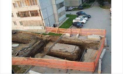 Безопасны ли подкопы, которые делают ради Макдональдса под окнами 9-этажки в Бердске?