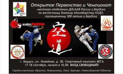 17-18 сентября соревнования по КУДО