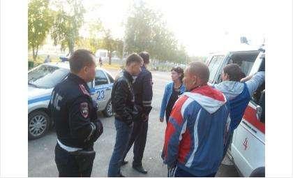 Мотоциклист сбил спортсмена в парке Победы в Бердске