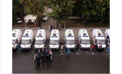 Из 25 новых машин «скорой помощи» одна направлена в Бердск