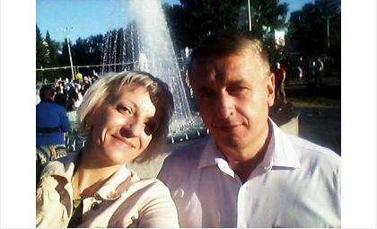 Редактор Бердск-онлайн Галина Жильцова и бывший и.о. мэра Бердска Андрей Михайлов