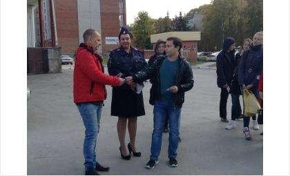 ГИБДД Бердска ведет борьбу с ростом ДТП с участием пешеходов