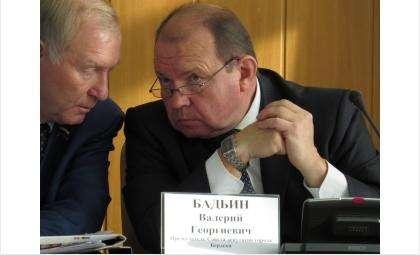 Валерий Георгиевич Бадьин избран председателем Совета депутатов Бердска