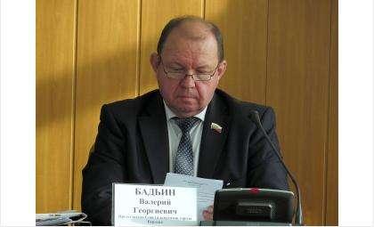 Валерий Георгиевич Бадьин, председатель Совета депутатов Бердска