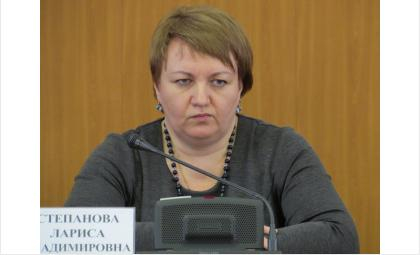 Лариса Владимировна Степанова, вице-мэр Бердска по ЖКХ
