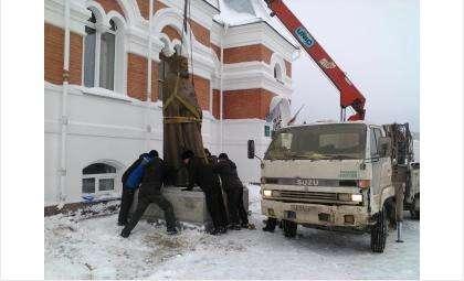 Памятник святому Серафиму Саровскому установлен 3 января 2017 года