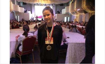 Бурделева Александра, 12 лет, СОШ №10 - второе место в чемпионате