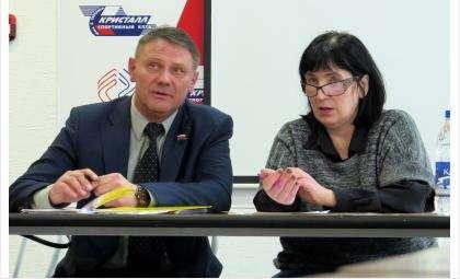 Олег Чебаненко и Марина Щербенева