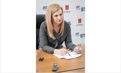 Руководитель розничного филиала ВТБ в Новосибирской области Елена Зайцева