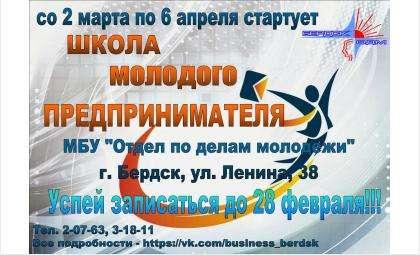 Школа молодого предпринимателя проводится в Бердске