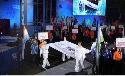 В Новосибирске открылись VIII Всероссийские зимние сельские спортивные игры
