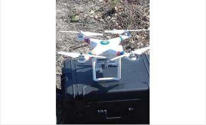 МЧС использует беспилотные летательные аппараты Бердского поисково-спасательного отряда