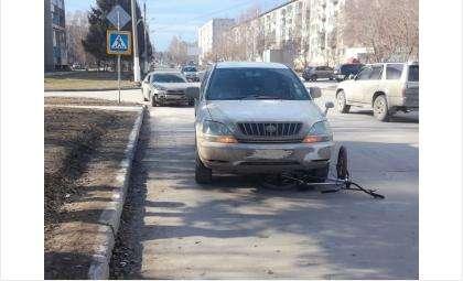 Двое детей-велосипедистов попали в ДТП в Бердске