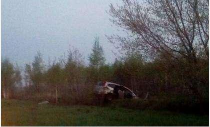 Автомобиль «Honda Stream» несколько раз перевернулся. Погиб водитель, пострадали 2 пассажира