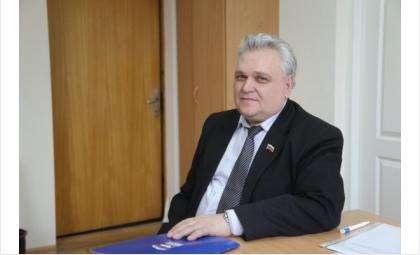 Председатель совета депутатов Искитимского района Александр Рукас. Фото: novosibirsk.er.ru